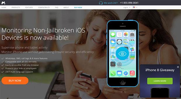 mSpy iPhone monitoring software